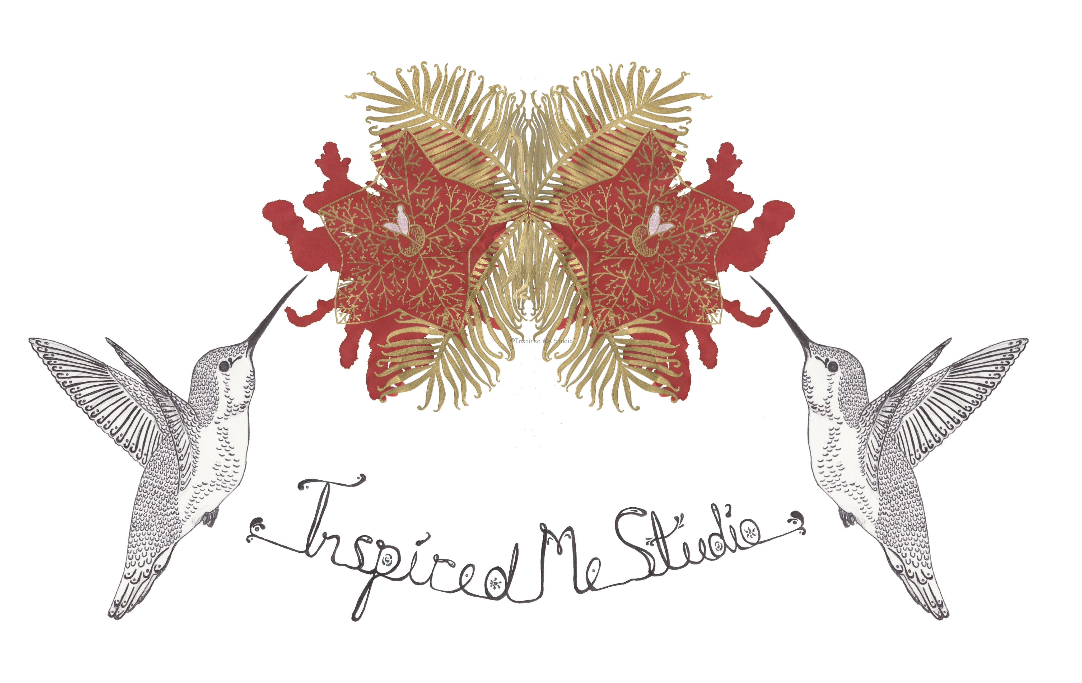 And here it is. The new Inspired Me Studio logo
