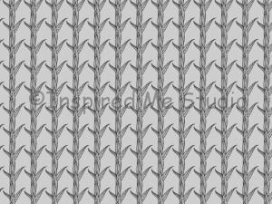 The raw unedited black and white grass leaves pattern before I worked Awesome Sauce in.